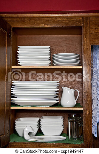 Stacked Dishes - csp1949447