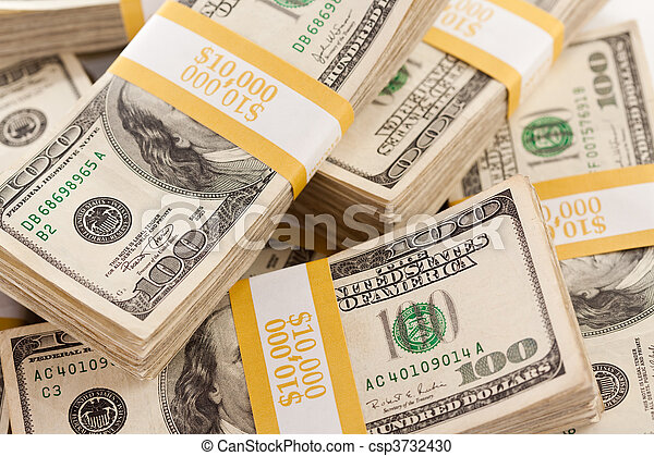Stacks of hundred dollar bills photos