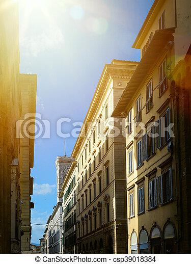 stad, kunst, straat, oud - csp39018384