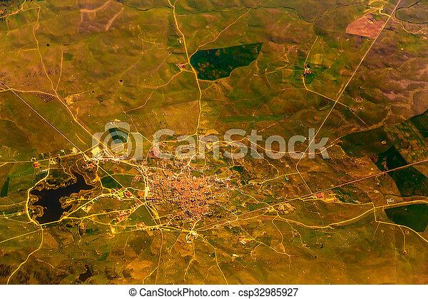 stad, luchtmening - csp32985927
