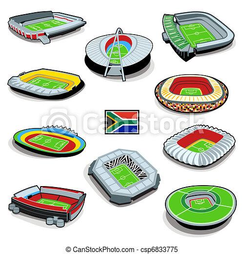 stadiony, piłka nożna - csp6833775
