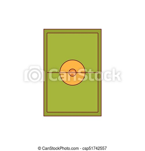 Stadium icon, cartoon style - csp51742557
