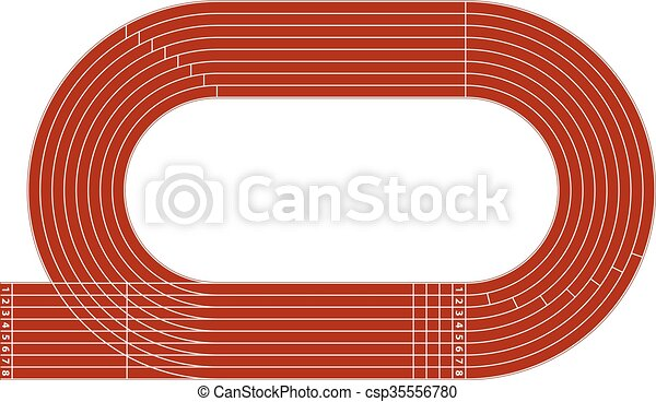 running track stock illustrations 4 513 running track clip art rh canstockphoto com clipart track and field clipart track and field