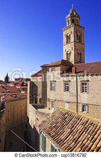 stadt, altes , kroatien, dubrovnik - csp13816792