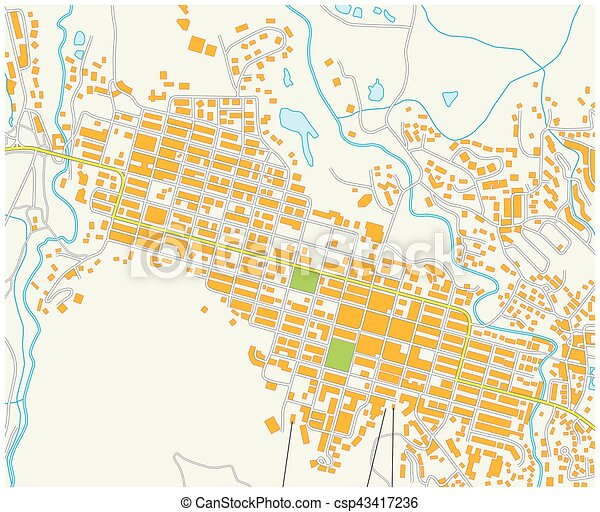 Colorado Karte Fluss.Stadt Espe Colorado Landkarte