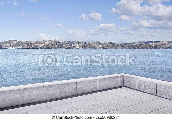 Lissabon Fluss stadt fluß ecke lissabon stadt portugal bild fluß