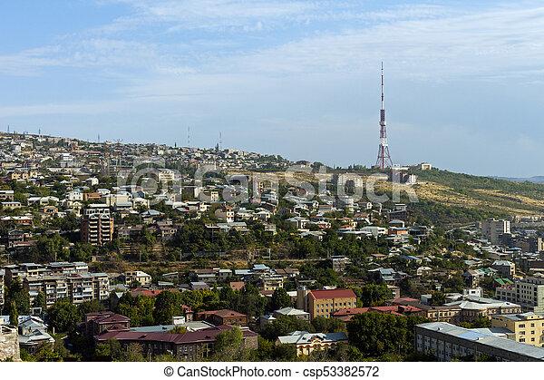 Yerevan Die Hauptstadt Und Die Grosste Stadt Und Stadt Armeniens Jerevan Die Hauptstadt Und Die Grosste Stadt Und Stadt