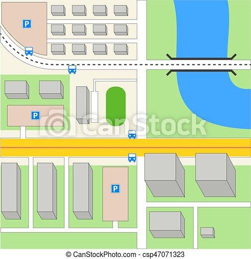 Stadtkarte? - csp47071323