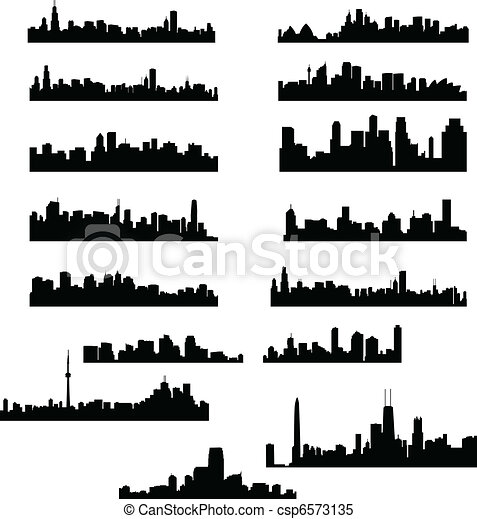 stadt, skylines - csp6573135