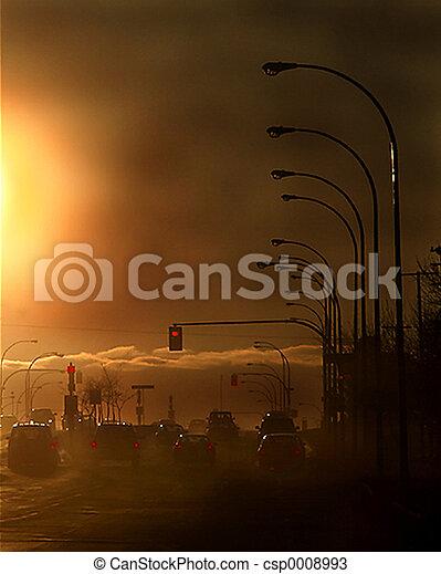 Stadtverschmutzung - csp0008993