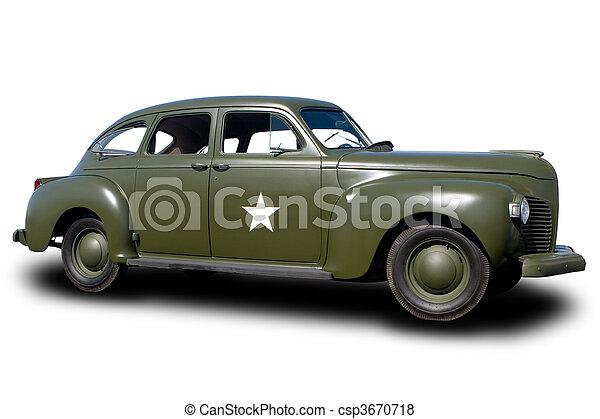 Staff Car - csp3670718