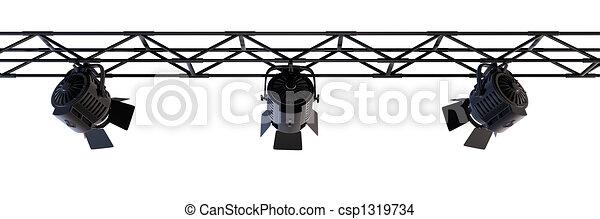 Stage Lights - csp1319734
