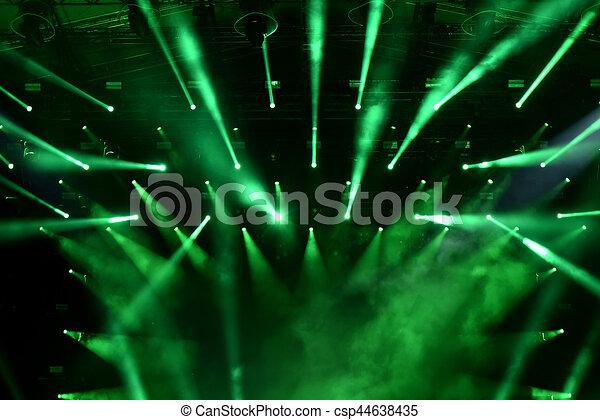 Stage lights - csp44638435