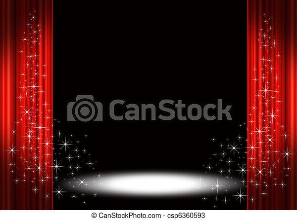 Stage spotlight - csp6360593