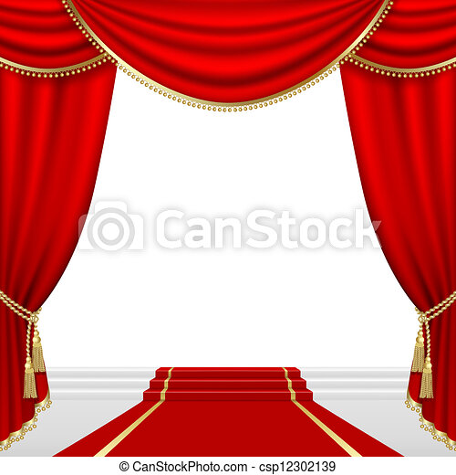 stage., theater, mesh. - csp12302139
