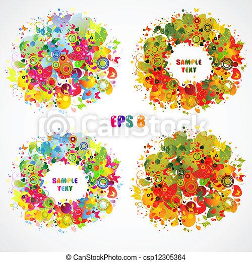 stagione, composizione - csp12305364