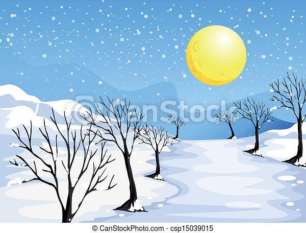 stagione, inverno - csp15039015