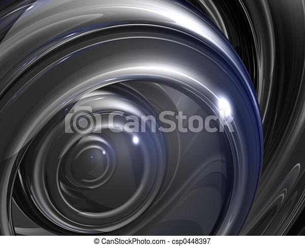 Stahlauge - csp0448397
