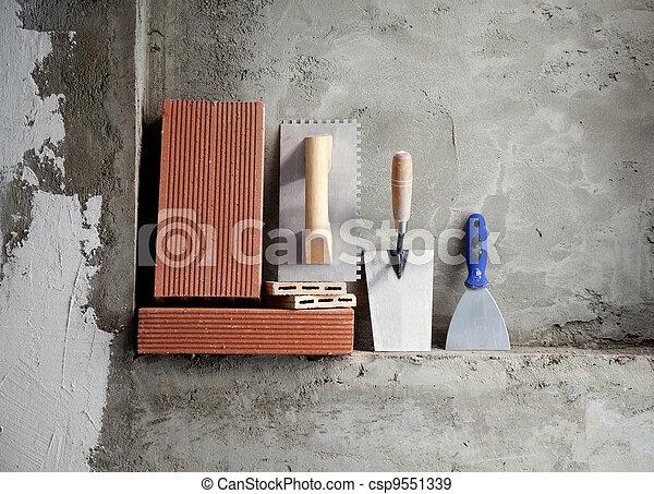 stahl ziegelsteine rostfrei kelle baugewerbe werkzeuge stockfotos suche foto clipart. Black Bedroom Furniture Sets. Home Design Ideas