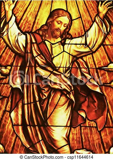 Stained glass - csp11644614