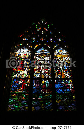 Stained glass - csp12747174