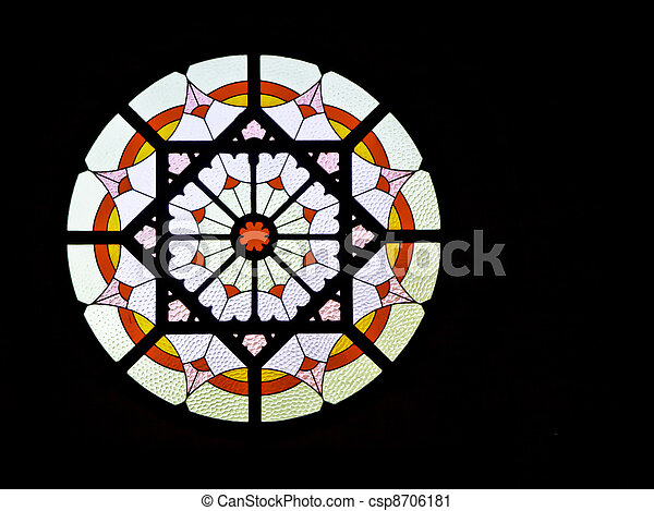 Stained Glass - csp8706181