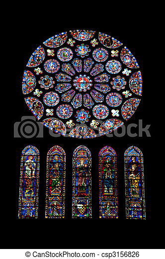 Stained glass - csp3156826