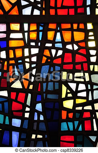 Stained glass - csp8339226