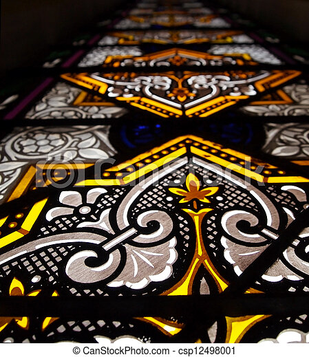 Stained Glass - csp12498001