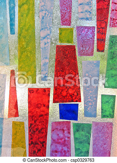 stained glass - csp0329763