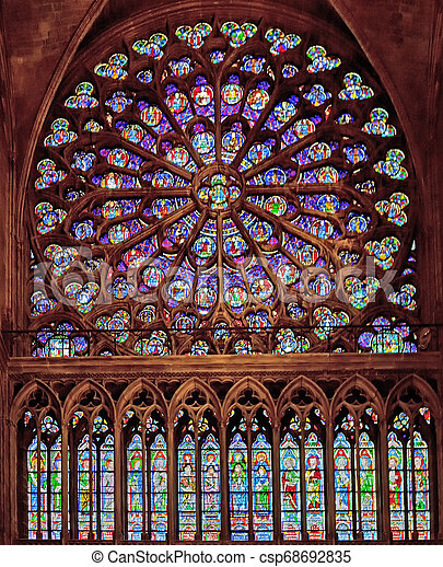 Stained glass - csp68692835
