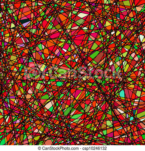 Stained glass texture in a purple tone. EPS 8 - csp10246132