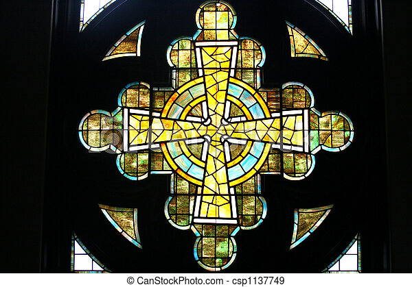 Stained Glass Window - csp1137749