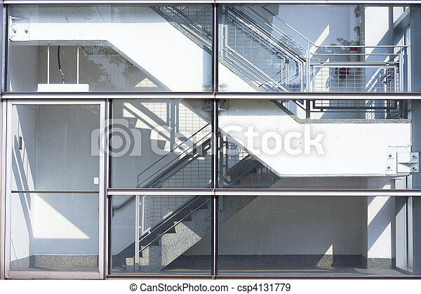 stair in the building - csp4131779