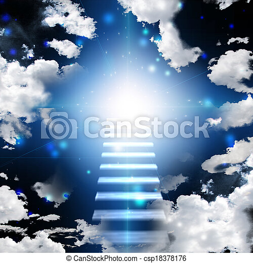 Stairway to heaven - csp18378176