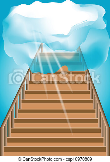 Stairway to the sky - csp10970809
