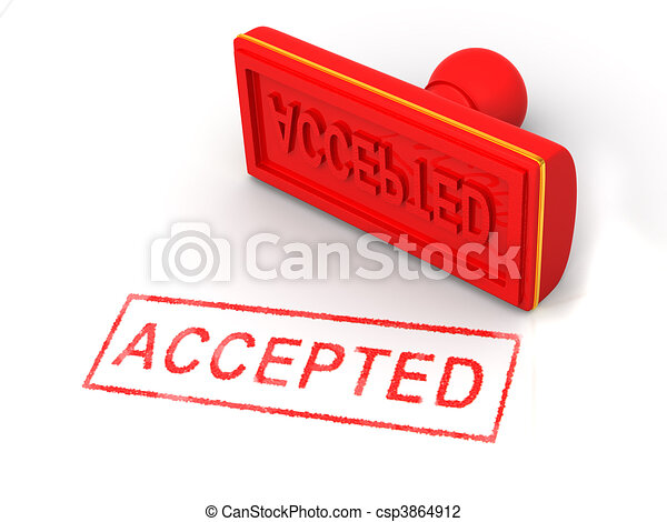 Stamp accepted - csp3864912