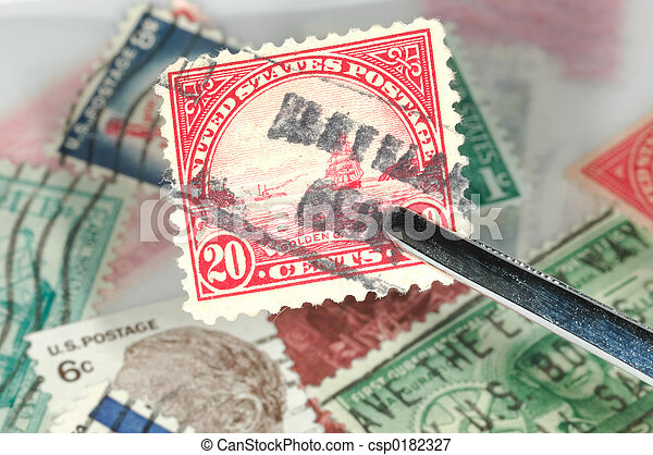 Stamp Collecting - csp0182327