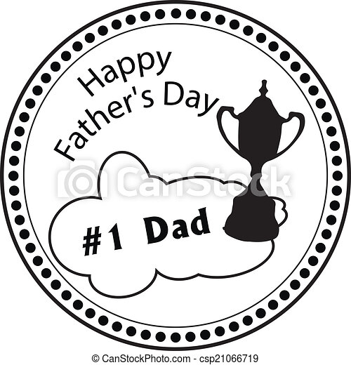 Stamp Dad Day - csp21066719
