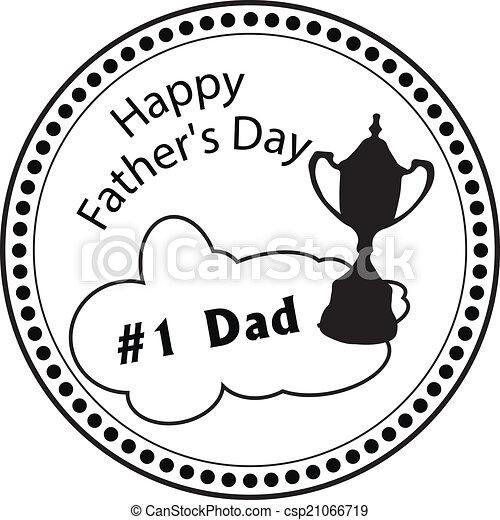 Stamp Dad Day - csp21066719