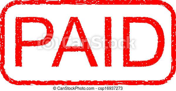 Stamp Paid - csp16937273