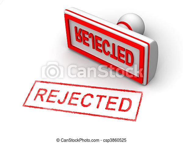 Stamp rejected - csp3860525