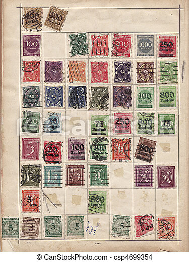 Stamps - csp4699354