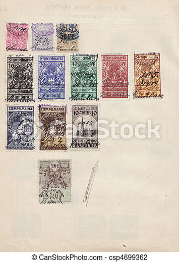 Stamps - csp4699362