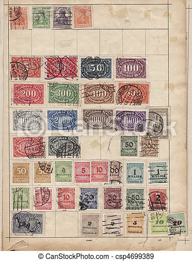 Stamps - csp4699389