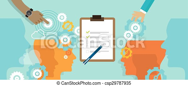 standard process business automation measure company - csp29787935