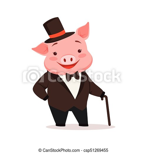 Cm tv cartone animato kawaii gravità waddles cade maiale rosa