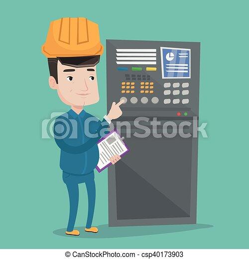 Standing controllo panel ingegnere controllo for Piani di garage free standing