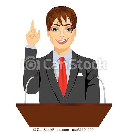 Standing microfoni podio dietro oratore standing for Piani di garage free standing
