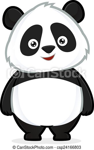 standing, panda - csp24166803